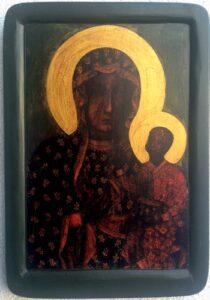 Копія Чудотворної ікони Ченстоховської Белзької