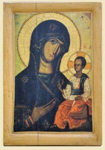 Копія Чудотворної ікони Волинська Богородиця Одигрія XIII ст