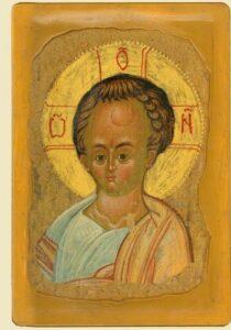 Фрагмент Христа-дитяти (XV ст.)