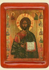 Христос Вседержитель, (XV ст.)