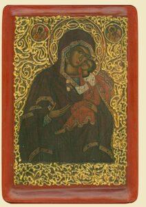Богородиця Замилування (XVIст.) з с. Лiсковатого
