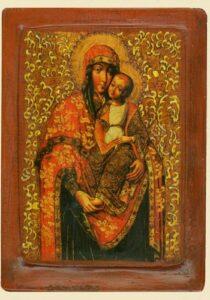 Богородиця Замилування (XVIIIст.) Київщина