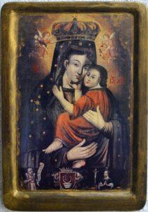Копiя чудотворної iкони Самбiрської Богородицi (XVI ст.)