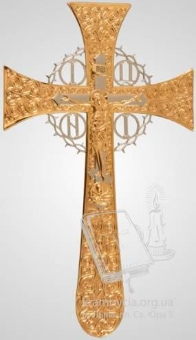 Хрест напрестольний №4-3 Мальтійський №2