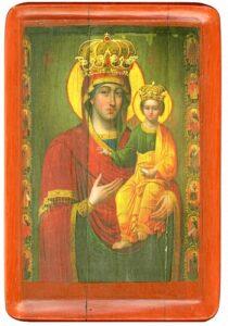Богородицi Одигiтрiї з похвалою (стиль – пiзнe українське бароко)