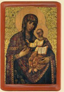 Богородиця Одигiтрiя (XVIIIст.), з Чернiгова