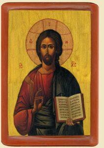 Христос Учитель iконописця Ювеналiя Мокрицького